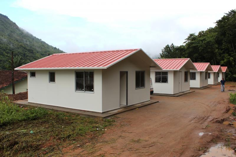 Governo municipal entrega kits de casas modulares for Kit casas prefabricadas